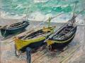 14_Клод Моне. Три рыбацкие лодки.