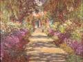 17_Клод Моне.  Тропинка в саду.