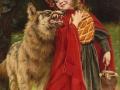 14_Артур Джон Элсли. Волк и красная шапочка.