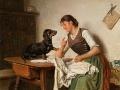 2_Адольф Эберле. Девушка с собакой