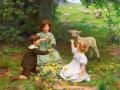 8_Артур Джон Элсли. Дети с барашком.