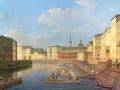 02_Неизвестный художник первой половины XIX века. Петербург, вид на Фонтанку.