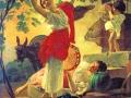16_Карл Брюллов. Девушка, собирающая виноград в окрестностях Неаполя.