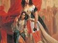 18_Карл Брюллов. Портрет графини Ю.П. Самойловой, удаляющейся с бала с приемной дочерью Амацилией Пачини.