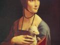 08_Леонардо да Винчи. Дама с горностаем.