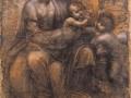 10_Леонардо да Винчи. Богоматерь с младенцем и святой Анной.
